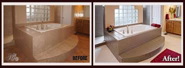 Bathtub Reglazing Phoenix Az by The Transformation By Miracle Method In This Bathroom Was Very