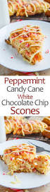 Pumpkin White Chocolate Chip Scones by Peppermint Candy Cane And White Chocolate Chip Scones On Closet