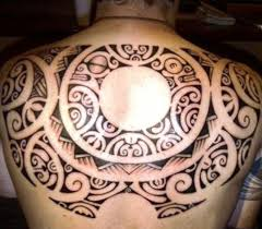Tribal Back Tattoo Designs Polynesian