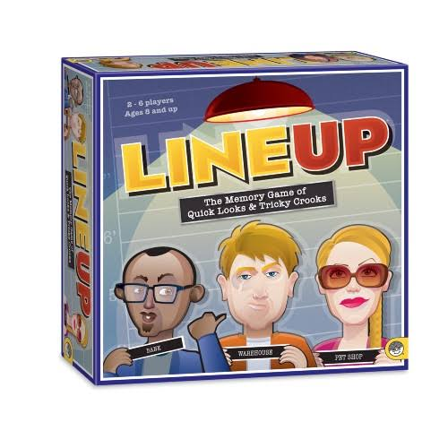 Mindware Lineup The Memory Game Of Quick Looks & Tricky Crooks