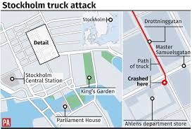 Death Toll In Stockholm Truck Attack Rises To Five As Woman Dies In ...
