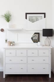 Ikea Hemnes Dresser 3 Drawer White by Best 25 White Dressers Ideas On Pinterest Dressers Bedroom