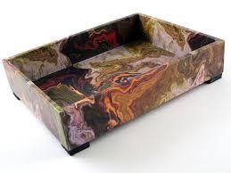 Mens Dresser Valet by Men U0027s Valet Tray Marbled Design Decorative Tray Desk