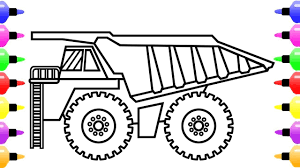 How To Draw Biggest Dump Truck For Kids | Truck Coloring Book ... Dump Truck Coloring Page Free Printable Coloring Pages Drawing At Getdrawingscom For Personal Use 28 Collection Of High Quality Free Cliparts Cartoon For Kids How To Draw Learn Colors A And Color Quarry Box Emilia Keriene Birthday Cake Design Parenting Make Rc From Cboard Mr H2 Diy Remote Control To A Youtube