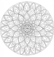 Awesome Collection Of Printable Full Page Mandala Coloring Pages In Layout