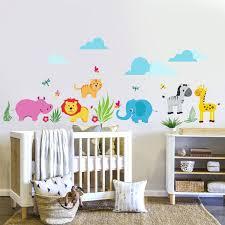 chambre bebe jungle stickers chambre parentale charming stickers muraux chambre garcon 4