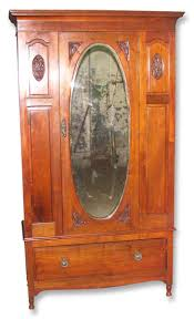 Early American Carved Cherry Armoire With Beveled Mirror | Olde ... Fniture Fancy Wardrobe Armoire For Organizer Idea Antique Cherry Finish Jewelry Lingerie Chest By Coaster Armoire Pictures Abolishrmcom Stellar French Louis Philippe With Fitted Sold Country Provincial 1780 Or Vintage American Phillipe Style Mt Airy Henredon Signed Neoclassical 19th Century In Walnut And Burl Brown Armoires Highly Rated Wood Wooden Luxury