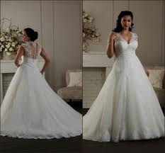 plus size lace wedding dresses with cap sleeves naf dresses