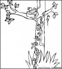 Coloring Pages Of Birds In Trees Page