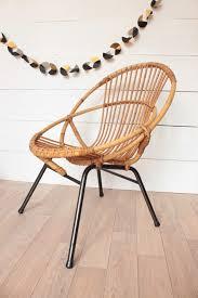 siege en rotin fauteuil rotin vintage trendy peaceful way of