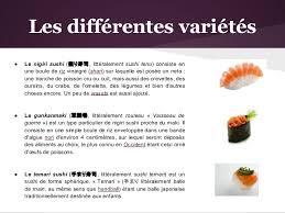 documentaire cuisine japonaise la cuisine japonaise sushi sashimi et maki