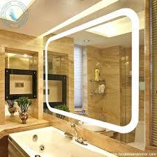 wall mounted light up mirror makeup with lights suintramurals info