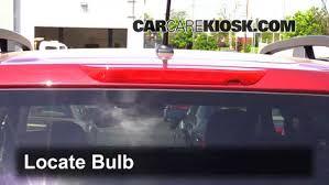 third brake light bulb change subaru forester 2014 2016 2014