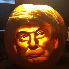 Headless Horseman Pumpkin Carving Stencil by Donald Trump Halloween Pumpkins Trumpkins Picture Break Com