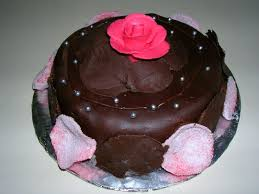 File Cake with rose