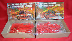 100 Model Fire Truck Kits Two Airfix Plastic Model Kits Both 064428 132 Scale 1914 Dennis