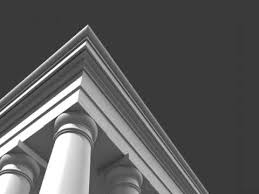 3D Model of Roman Tuscan Column Entablature & Pedestal