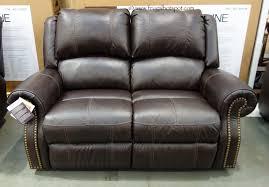 Berkline Reclining Leather Loveseat Costco FrugalHotspot