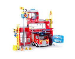 Amazon.com: Mickey Mouse Club House - To The Rescue Fire Station ... Mickey Mouse Firetruck Cake Hopes Sweet Cakes Firetruck Wall Decals Gutesleben Kiddieland Disney Light And Sound Activity Rideon Clubhouse Toy Lot Fire Truck Airplane Car Figures Melissa Doug Friends Wooden Zulily Police Clipart Astronaut Pencil In Color Mickey Mouse Toys Hobbies Find Products Online At Amazoncom Mickeys Farm Vehicles Jual Takara Tomy Tomica Dm11 Jolly Float Figure Disneyland Vintage