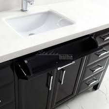 60 Inch Bathroom Vanity Single Sink Black by Calais 60 Inch Transitional Single Sink Bathroom Vanity Espresso