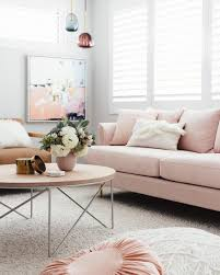 100 Designs For Sofas For The Living Room 18 Chic Blush Pink How To Style M