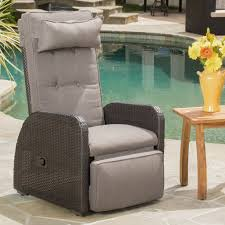 Darby Home Co Keenes Recliner Patio Chair With Cushion & Reviews ... Hampton Bay Spring Haven Brown Allweather Wicker Outdoor Patio Noble House Amaya Dark Swivel Lounge Chair With Outsunny Rattan Rocking Recliner Tortuga Portside Plantation Wickercom Wilson Fisher Resin Recling Ideas Fniture Unique Clearance 1103design Chairs S Rocker High Indoor Lounger Alcott Hill Yara Cushions In 2019 Longboat Key At Home Buy Cheap Online Sale Aus