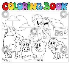 Farmer Clip Art Coloring Make Photo Gallery Farm Animals Book