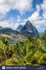 100 J Mountain St Lucia Windward Isles Ock Photos Windward Isles Ock Images Alamy