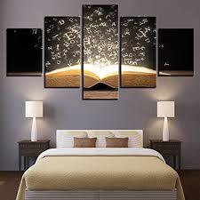 37tdfc 5 teiliges leinwandbilder stück kunstdruck wandbilder