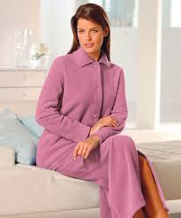 robe de chambre polaire femme zipp robe de chambre polaire lepeignoir fr