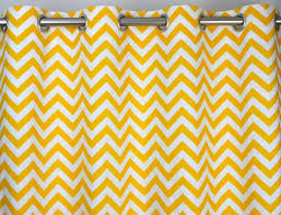 108 Inch Blackout Curtain Liner by Amazon Com Yellow And White Chevron Zig Zag Drape With Blackout