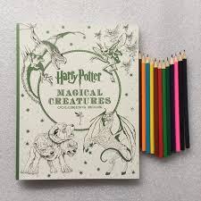 12 Lapices De Colores Secret Garden Estilo Criaturas Magicas Libro Para Colorear Adultos Estres