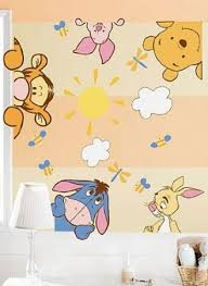 Winnie The Pooh Nursery Themes by Winnie The Pooh Wall Decals