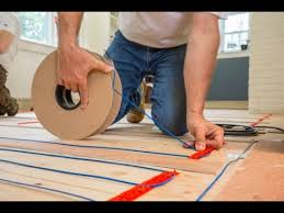 installing warmup electric radiat heat hardwood flooring