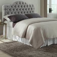 Fabric Headboards King Cal Queen Or Full Size With Padded by Headboard Beds U0026 Headboards Bedroom Furniture The Home Depot