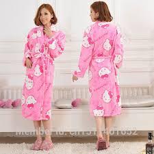 robe de chambre hello robe de chambre hello hello pyjama court fushia