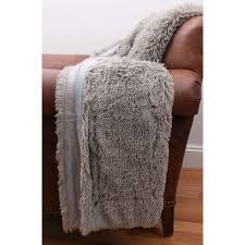 Rizzy Home Cable Knit Cotton Luxury Sweater Throw Blanket