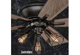 adirondack ceiling fan ceiling fans rustic lighting fans hunter