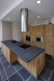 cuisine grise plan de travail bois étourdissant plan de travail cuisine gris anthracite avec cuisine