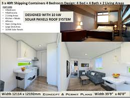 100 How To Build A House With Shipping Containers Container House Plans Plans Container Home 2 Bed 4 Bathroom Ship Container Home Plan 4 Bed Container House