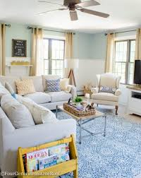 Living Room Makeovers 2016 by Family Room Summer Makeover Four Generations One Roof