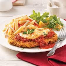 cuisine santé express escalopes de veau parmigiana soupers de semaine recettes 5 15