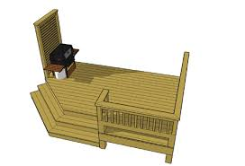 small deck plan used primarily for the entrance of homes get this