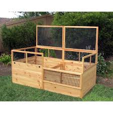 Greenes Fence Raised Garden Bed by 3 U0027 X 6 U0027 Raised Garden Bed With Fence And Trellis Eartheasy Com