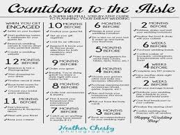 Chic Wedding Planning Checklist Printable