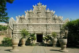 Entrance Gateway Taman Sari Yogyakarta Water Castle