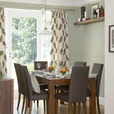 Dining Room Curtain Ideas Color Zachary Horne Homes Throughout Drapery
