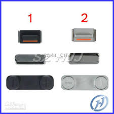 For Iphone 5 plete Side Buttons Set Power Volume Mute Switch 3