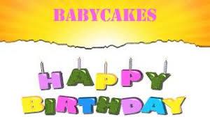 Babycakes Birthday Wishes Mensajes
