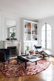 100 Interiors Online Magazine Charming White Apartment In Paris Interior Fashion Design Luxury